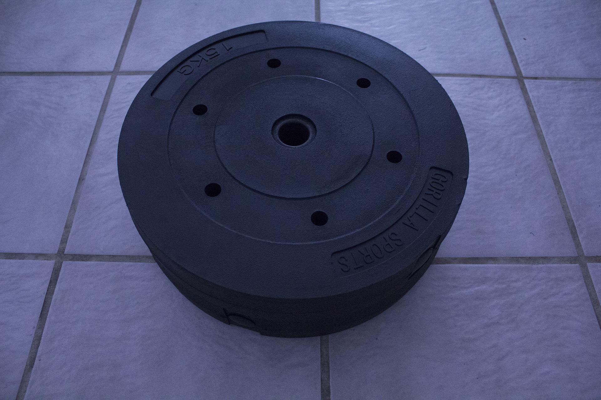 Bitcoinplaats - Overige - Halterstang 165 cm (52 kg)